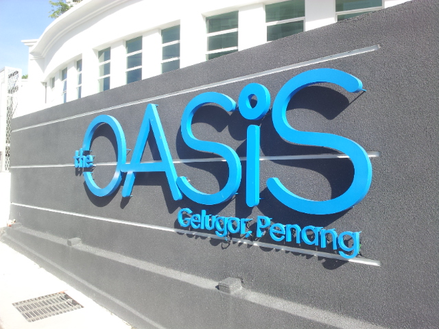 The Oasis, Gelugor