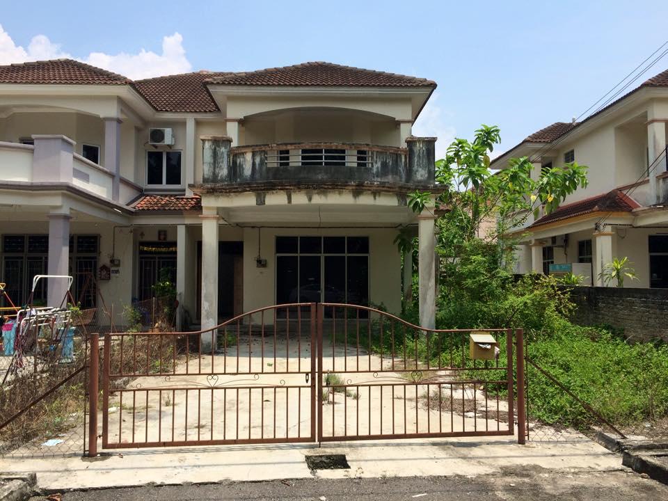 2 storey Semi D in Taman Sintar Indah