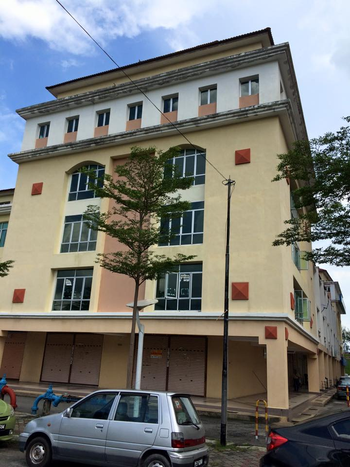 5 storey shop office with lift, Jelutong