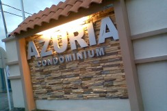 Azuria Condo sign