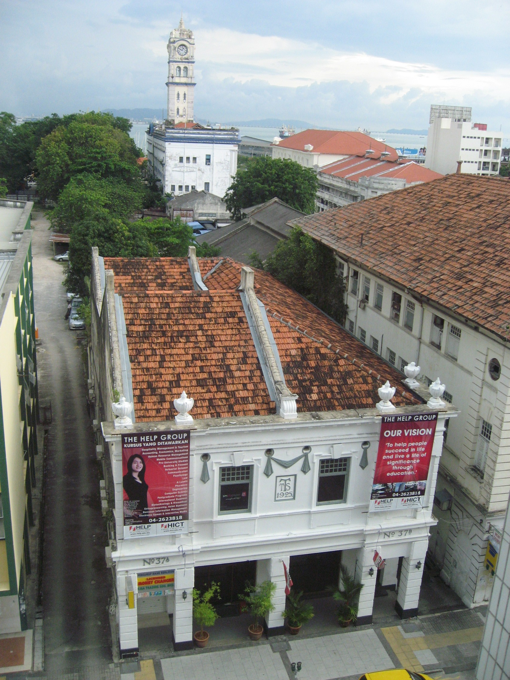 Double storey commercial building in Beach Street, Georgetown