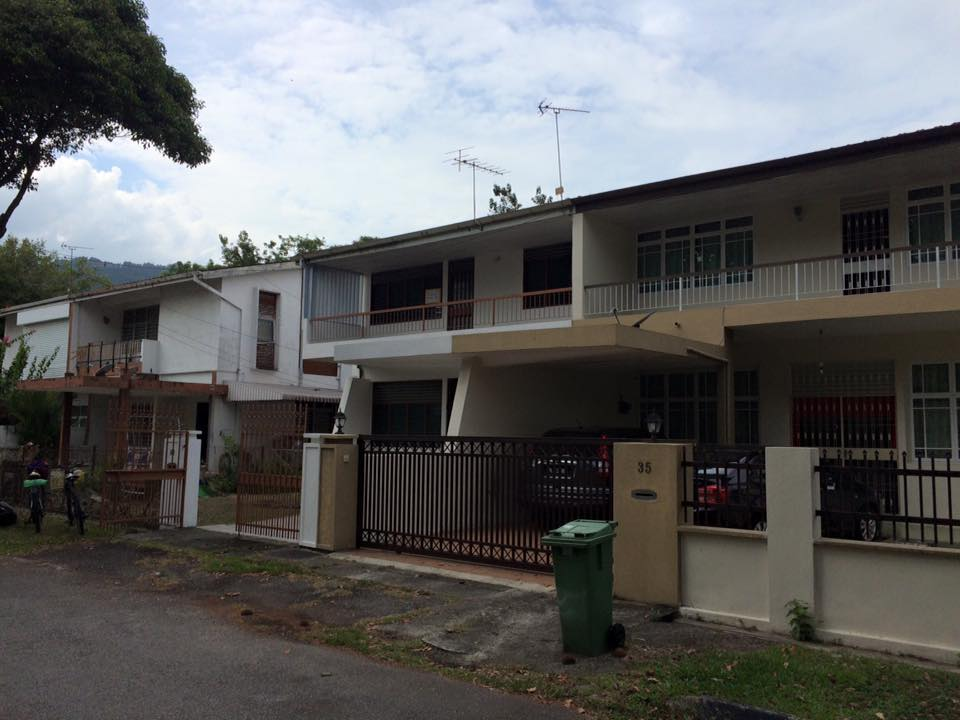 Double storey Semi Detached, Medan York