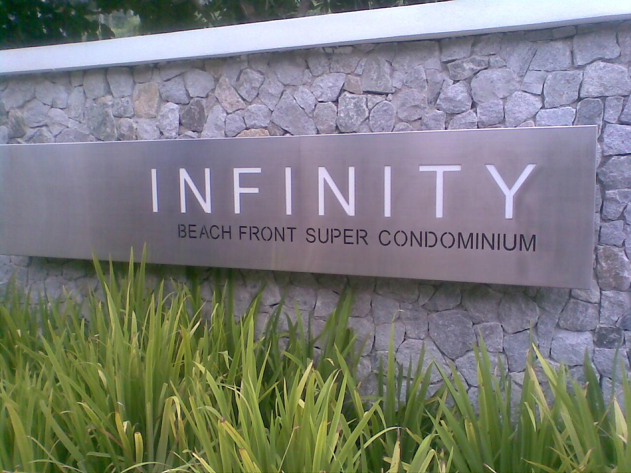 Infinity Beachfront Condominium
